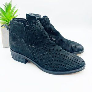 Dolce Vita NEW Black Tommi Perforated Booties